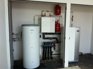 Aardwarmtepomp installatie met koeling project Alkmaar